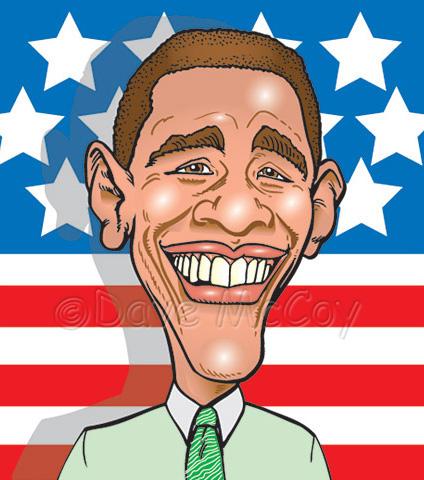 URL e fotografise: http://www.davetoons.com/caricatures/images/obama.jpg
